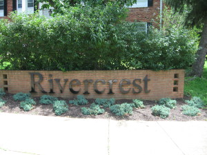 rivercrest sign
