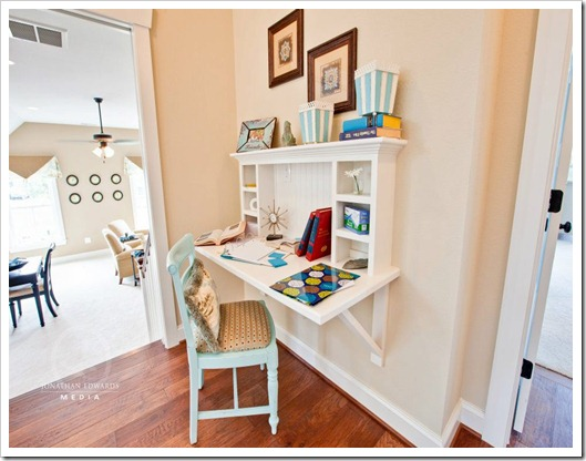 Homebuilders Are Even Adding New Elements To Home Construction Floor Plans That Feature Dedicated Areas Such As A Nook By The Kitchen Desk Area In